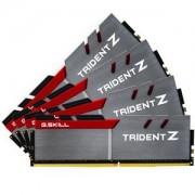 Mémoire RAM G.Skill Trident Z 32 Go (4x 8 Go) DDR4 3466 MHz CL16 PC4-27200 - F4-3466C16Q-32GTZ
