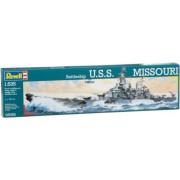 Revell - Maqueta Battleship U.S.S. Missouri, escala 1:535 (05092)