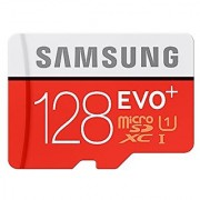 Samsung EVO Plus Class 10 128GB MicroSD 80 MB/S Memory Card with SD Adapter (MB-MC128D)