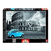 Educa 15548 - Coliseum, Rome - 1000 pieces - Coloured Black & White Puzzle
