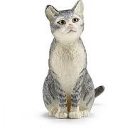 Schleich Cat Sitting Toy Figure