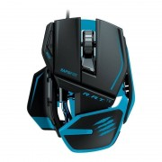 Mouse gaming Mad Catz R.A.T. TE Tournament Edition black blue