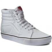 Sneakersy VANS - Sk8-Hi Lite VN0A2Z5YL5R (Canvas) True White