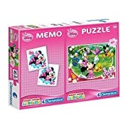 CLEMENTONI S.P.A. Minnie Memo and Puzzle (60-Piece)