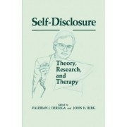 Self-Disclosure by Valerian J. Derlaga