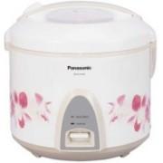 Panasonic SR-KA22A (R) Electric Rice Cooker(2.2 L, White)