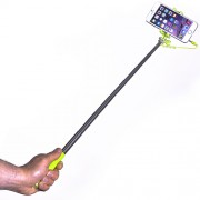 Mini Selfie Stick Extensibil Wired Verde Celly