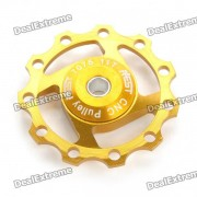 AEST Bike Aluminio 7075 11T Pulley Cambio trasero Shimano para / Sram 7/8/9 Speed ??- Golden