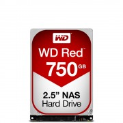 Western Digital WD Red, 2.5', 750GB, SATA/600, 16MB cache