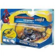 Spider-man Symbiote Stunt Cycle Venom - Ripcord Powered Super Jumps