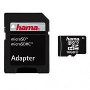 Card Hama Micro SDHC 16GB cu adaptor foto