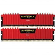Memorie Corsair Vengeance LPX Red 8GB DDR4 2666 MHz CL16 Dual Channel Kit
