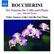 L. Boccherini - 6 Sonatas For Cello & Pia (0747313236879) (1 CD)