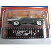 Hot Wheels Simon & Simon '57 Chevy Bel Air Convertible, Black Chevrolet Bel Air 1957