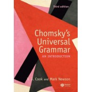 Chomsky's Universal Grammar by Vivian J. Cook