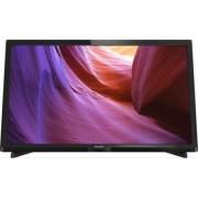 Televizor LED 60 cm Philips 24PHT4000 HD Black