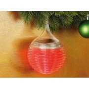 Lunartec 3 Boules de Noël à LED ''Cristal de Glace''