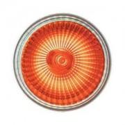 HIPOW Ampoule GU10 Orange 220v ECO Halogene Puissance 28w (équivalant à 35w)