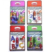 Melissa & Doug On The Go Water Wow Bundle Fairy Animals Alphabet and Numbers Paint