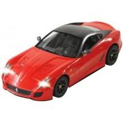 Jamara 404295 - Ferrari 599 GTO Veicolo, Scala 1:14, Rosso