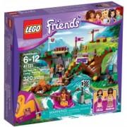 LEGO® Friends Tabăra de aventuri: Rafting 41121