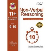 10-Minute Tests for 11+ Non-Verbal Reasoning (Ages 9-10) - CEM Test by CGP Books