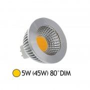 Vision-EL Spot Led 5W (45W) dimmable GU5.3 12V Blanc chaud 2700°K