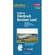 Fietskaart BRA04 Bikeline Radkarte Oderbruch - Barnimer Land | Esterbauer
