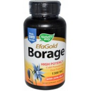 Borage 1300mg EfaGold - concentratie optima de acizi grasi Omega 6 si 9