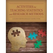 Activities for Teaching Statistics and Research Methods by Jeffrey R. Stowell