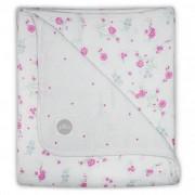 Jollein Hydrofiele babydeken 120x120 cm blooming pink 521-557-65058