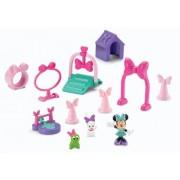 Mattel X5316 Fisher-Price Disney - Minnie con animales y recorrido