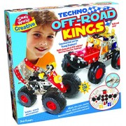Small World Toys Creative - Techno Off Road Kings Metal Construction Set