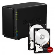 SYNOLOGY DISKSTATION DS216 NAS SYSTEM 6TB INKL. 2X 3TB WD RED WD30EFRX