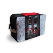 Coffret balsamo pós-barbear 75ml + gel de barbear 150ml + bolsa - Lierac