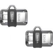 SanDisk SDDD3-032G-I35 32 GB Pen Drive(Multicolor)