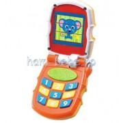 Telefon muzical bebe cu animale