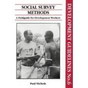 Social Survey Methods by Paul Nichols