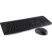 Kit tastatura cu mouse wireless Logic Concept LKM-101W Negru