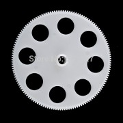Generic 6pcs/Lot V913-03 Main Gears / Gear Wheel Set Parts For WLTOYS Alloy V913 2.4G 4CH Gyro Single Propeller RC Helicopter
