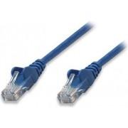 Kabel mrežni Intellinet, Cat5e, U/UTP, RJ45-M/RJ45-M, 10 m, plavi