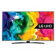 "LED TV LG 49"" 49UH668V ULTRA HD SMART SILVER"