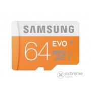 Card memorie Samsung microSDHC 64GB EVO Class10, UHS-I Grade1