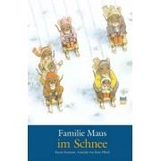 Familie Maus im Schnee by Kazuo Iwamura