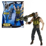 Mattel Year 2011 DC Comics Batman The Dark Knight Rises Series 10 Inch Tall Action Figure - BONEBASHER BANE with Bashing Action Plus Bazooka Missile Launcher with 1 Missile