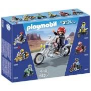 Playmobil 5526 - Moto Custom con Centauro