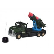 Ollypolly Super Truck Military War Tank Truck Rc Remote Control Toy With Light ,Sound