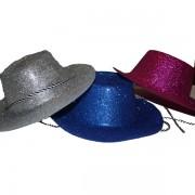 Glitteres zsinóros kalap