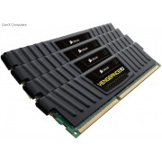 Corsair CML32GX3M4A1600C10 32GB vengeance Lp with black low-profile heatsink Desktop Memory, 8Gb x4 kit
