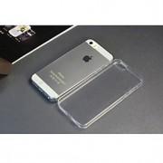 Para Capinha iPhone 5 Ultra-Fina / Transparente Capinha Corpo Inteiro Capinha Cor Única Macia TPU iPhone SE/5s/5